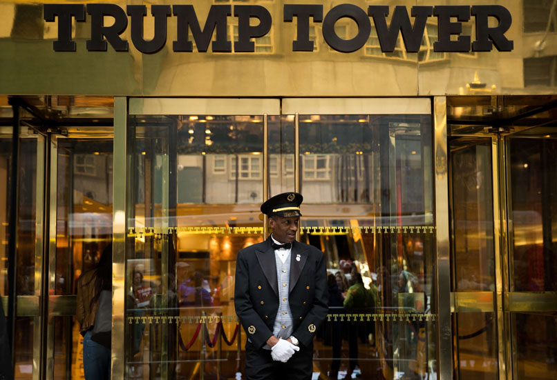 Protestors Rally Against Donald Trump At Trump Tower